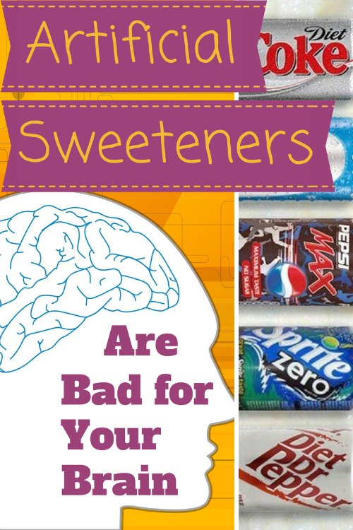 Aspartame side effects are bad for the brain artificial sweeteners