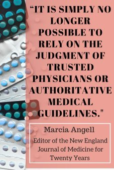 marcia angell it is no longer possible to trust in doctors or the medical industry