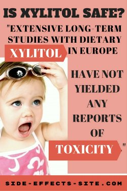 xylitol risks and xylitol toxicity. Extensive studies in Europe have yielded no reports of toxicity